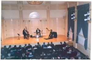 Toronto Harpist Joanna Jordan Carnegie Hall